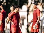 记者:王大雷发烧缺席上午训练,李磊伤情好转参加合练