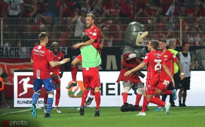 爆冷击败多特,柏林联合取得队史德甲首场胜利
