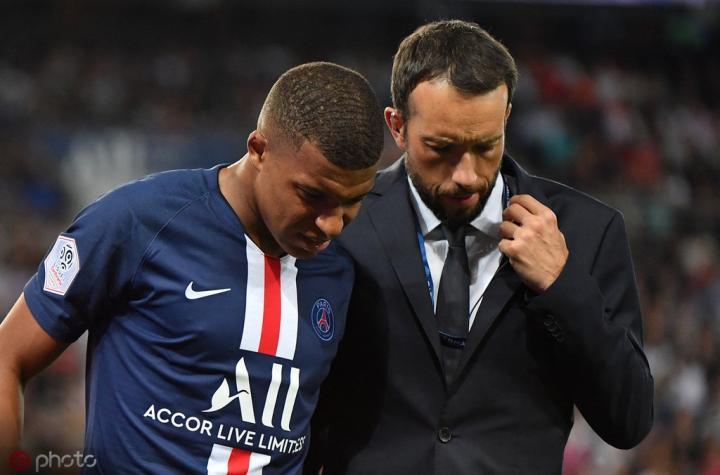 记者:姆巴佩恢复情况良好,巴黎希望他能赶上对阵皇马的比赛