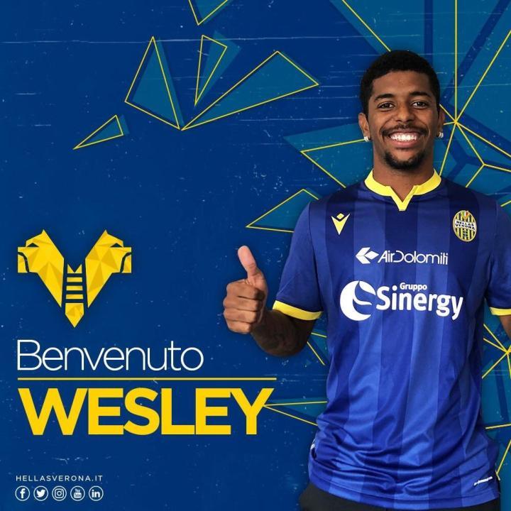 足球市场:维罗纳今夏免签的韦斯利,会在下个转会窗加盟尤文