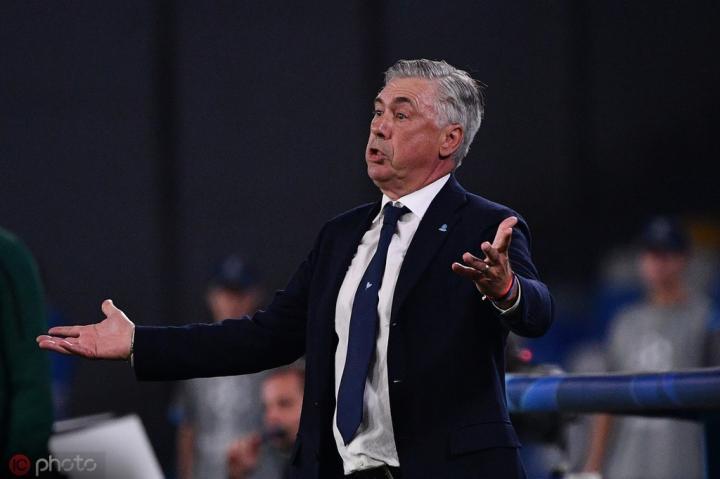 安切洛蒂:AC米兰还需要时间,球队要有耐心去解决现有问题