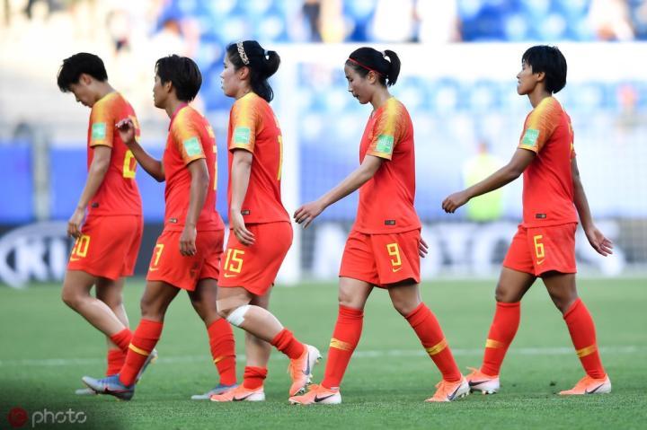 女足世界杯中国队数据:场均射正倒数第四,射门得分效率垫底