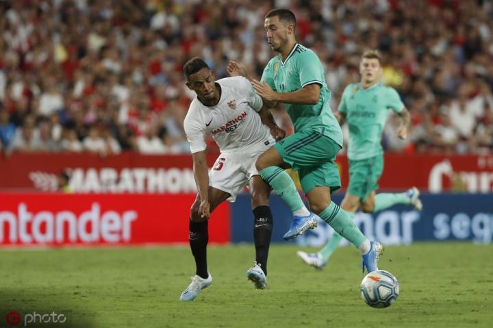 阿扎尔单场被断球7次,为本赛季西甲之最