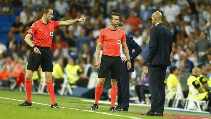 西甲第7轮马德里德比裁判公布:冈萨雷斯-冈萨雷斯