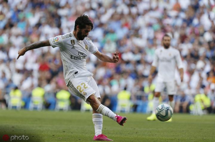 里程碑,伊斯科迎来加盟皇家马德里以来第200场胜利
