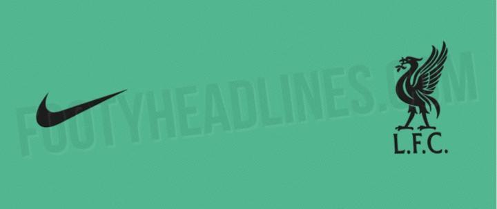外媒:青绿色将为利物浦2020-21赛季客场球衣的主色调