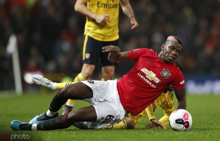 曼晚:曼联目前有十名伤员,博格巴国际比赛日后有望复出