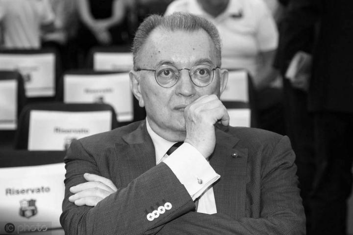 哀悼,萨索洛老板乔尔吉奥-斯奎齐因病去世