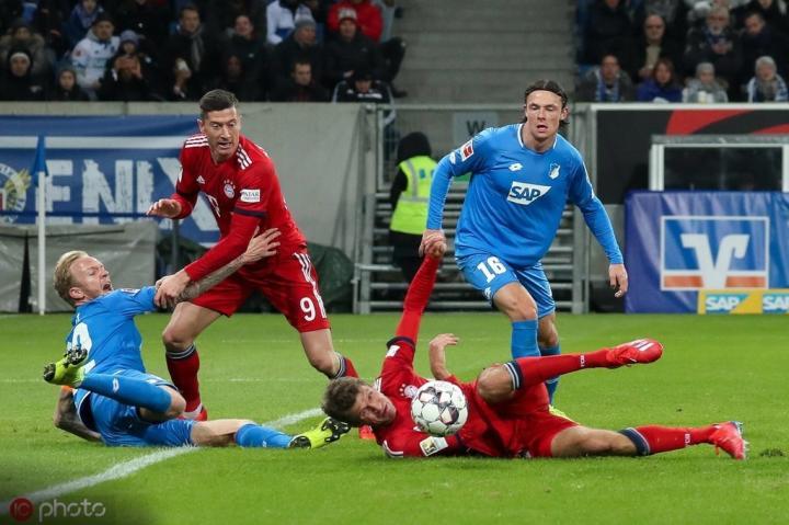 历史战绩占优,拜仁11次德甲主场对阵霍芬海姆保持不败