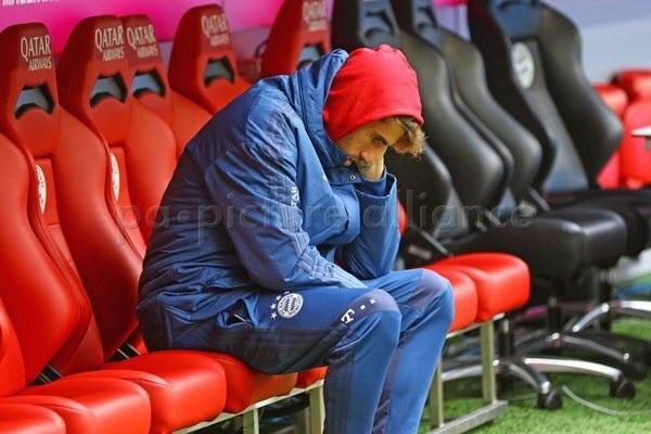 记者:哈马赛后离开球场,并未对赛前的图片发表看法