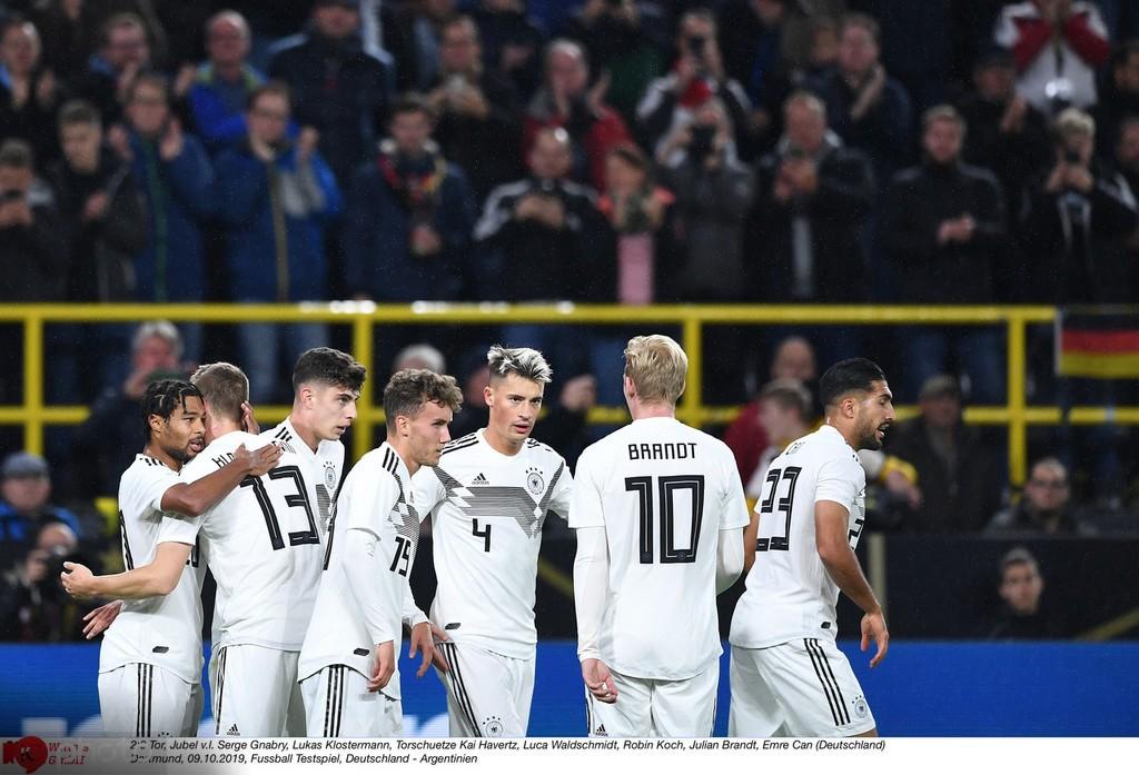德国队赛后评分:哈弗茨和格纳布里满分,基米希高分