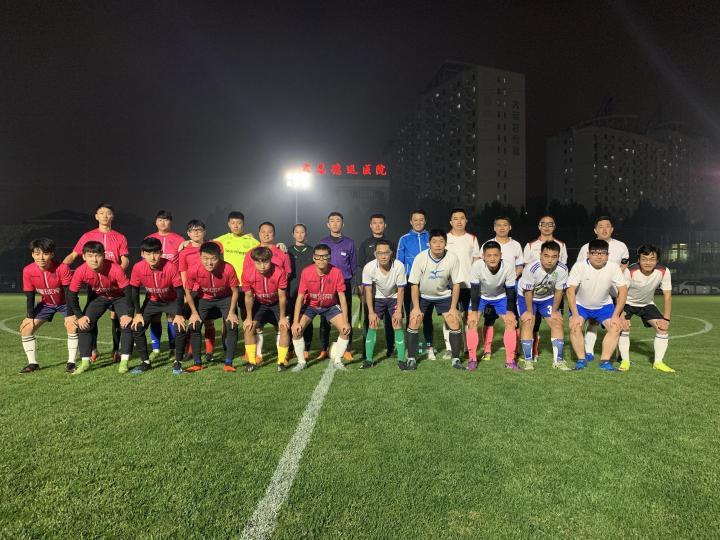 116比分FC 7-5 CAC足球队,袁鑫戴帽,通才任意球世界波破门