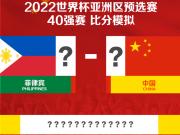 2022年世预赛40强赛:菲律宾vs中国!快来截图预测比分吧