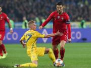 葡萄牙1-2乌克兰,C罗点射打进生涯第700球,乌克兰提前晋级