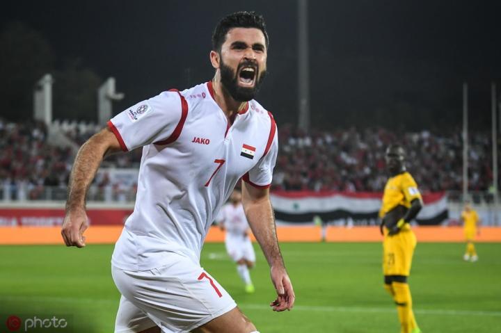 叙利亚头号前锋伤缺4-6周,很可能无缘战国足