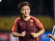 杨旭若能再入一球,将追平马林并列国足历史射手榜第三位