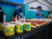 图集:探营菲律宾主场球迷区小吃街,中西美食琳琅满目