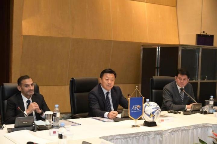 杜兆才主持亚足联裁委会会议,U23亚洲杯将使用VAR