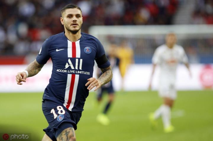 伊卡尔迪:巴黎打马赛就像是国米踢尤文