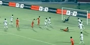 中国U18友谊赛3-1战胜印尼U18,陶强龙双响+补时阶段破门制胜