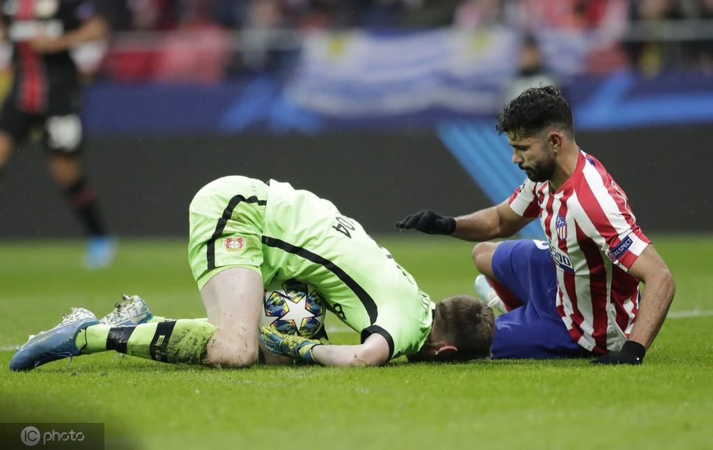 半场战报:马竞0-0勒沃库森,双方场面胶着,希门尼斯伤退