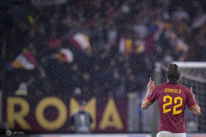 在扎尼奥洛进球的8场比赛中,罗马5胜3平保持不败