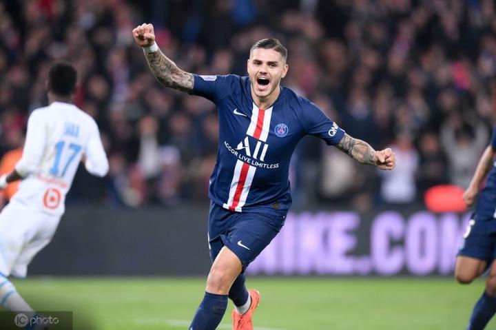 队报法甲周最佳:伊卡尔迪等巴黎四将入选,本耶德尔在列