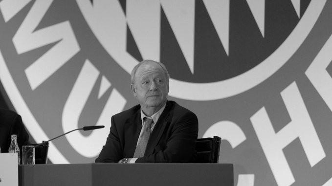 哀悼,拜仁慕尼黑前副主席鲁道夫-舍尔斯逝世