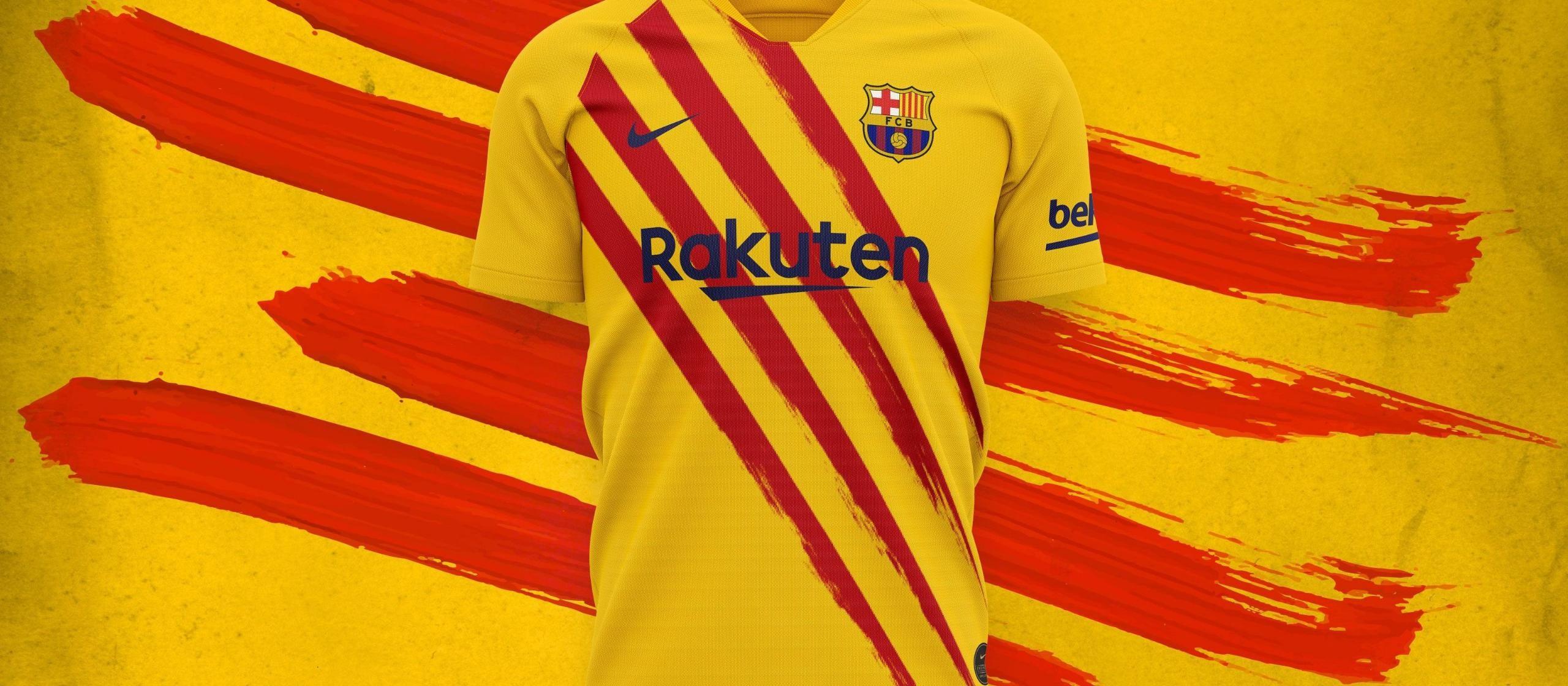 新款球衣 本赛季第四套,巴萨发布新款球衣