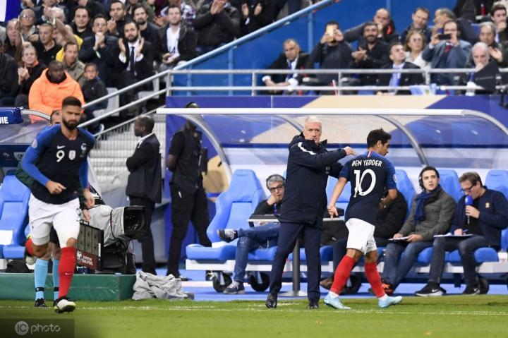 队报预测法国队首发:姆巴佩、格子领衔,德尚不会做出大轮换