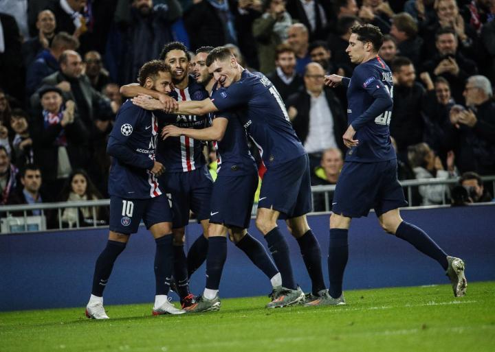 又是第一!巴黎第五次在欧冠小组赛中排头名,创法甲球队纪录