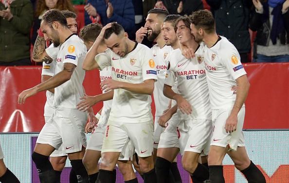 在行,塞维利亚成第一支欧联前5轮全胜的西班牙球队