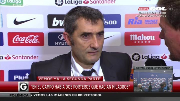 巴尔韦德:在这种势均力敌的比赛中,拥有梅西是巨大的优势
