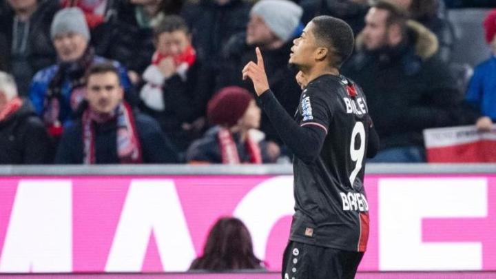 勒沃庫森邊鋒貝利:對陣拜仁進兩個球的感覺實在太好了