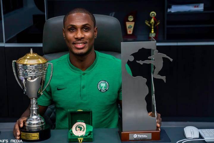 官方:伊哈洛当选尼日利亚年度最佳足球运动员