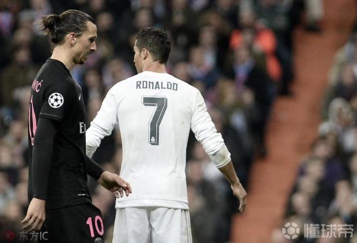 伊布:C罗不是真正的罗纳尔多,尤文在意乙时他去才能算挑战