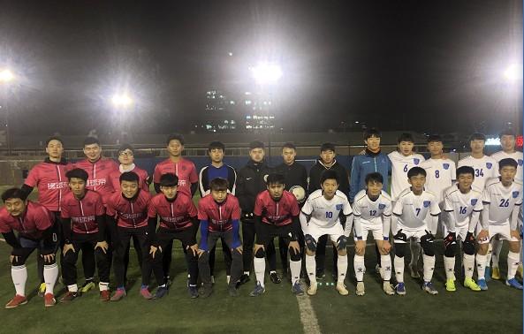 116比分FC 4-3逆转人大附三高足球队,朴教练暴力美学绝杀