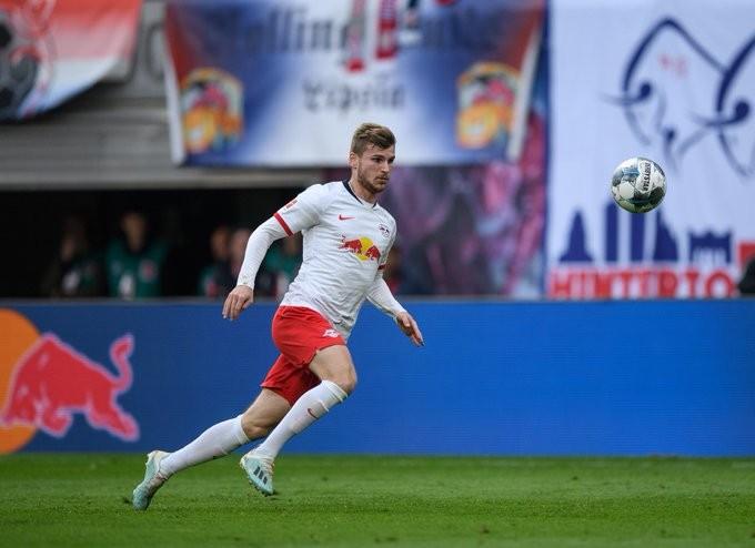 参与20粒进球,维尔纳在五大联赛仅次于因莫比莱