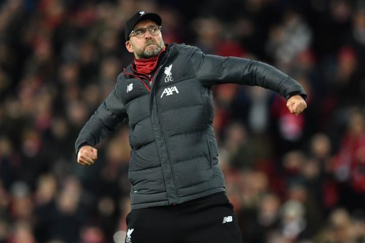 前21轮联赛拿到61分,利物浦创造五大联赛最佳开局