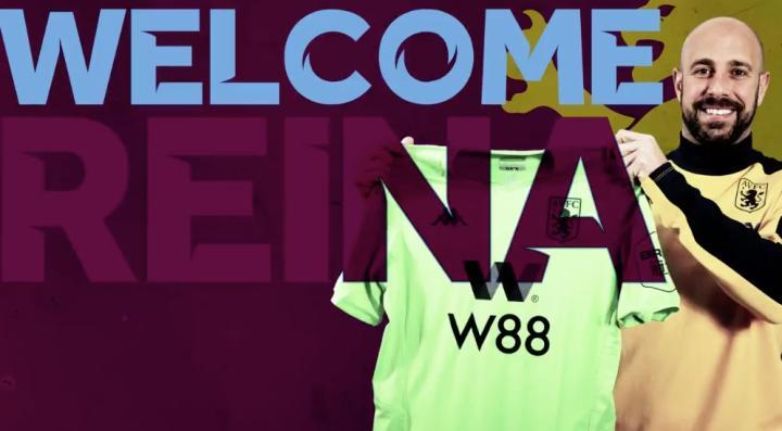 官方:AC米兰门将雷纳租借加盟阿斯顿维拉