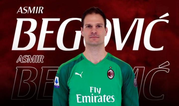 官方:伯恩茅斯门将贝戈维奇租借加盟AC米兰6个