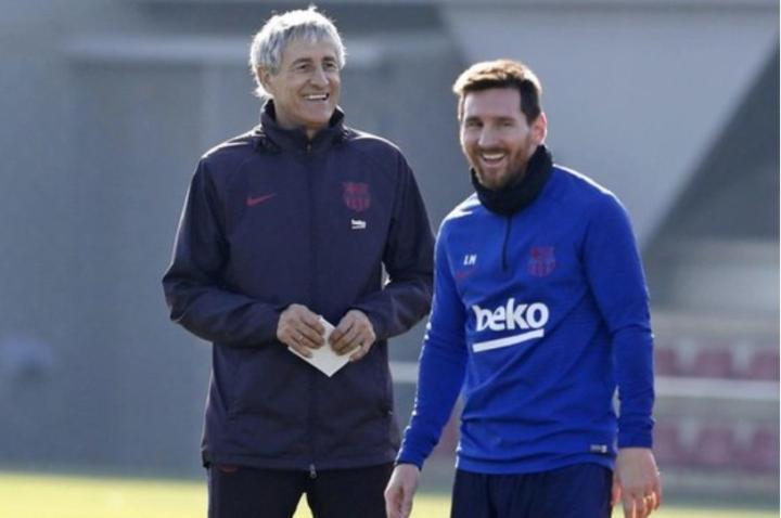 比拉诺瓦以来,梅西在每任教练的首秀上都能取得进球