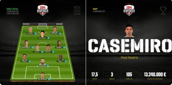 最好的胖虎!卡塞米罗被阿斯评为本轮西甲最佳球员