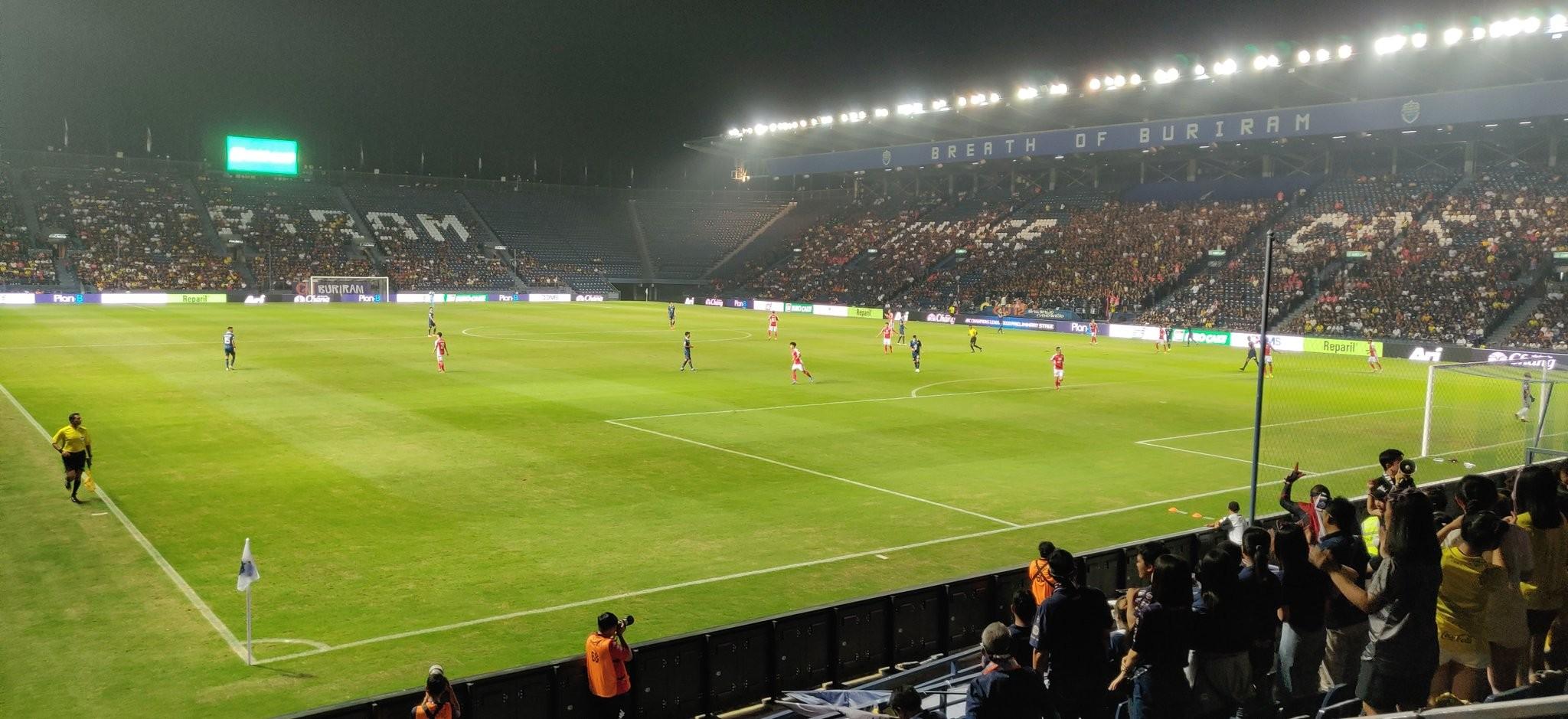 武里南联2-1击败胡志明市,下轮亚冠资格赛对阵上港