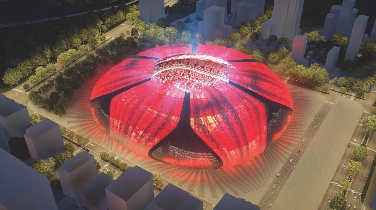 恒大宣布计划另建两座8万人专业足球场  诚邀大家集思广益六选二