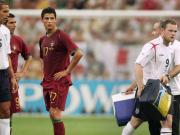 """老照片:世界杯上的这个动作,让C罗成为了""""全英公敌"""""""