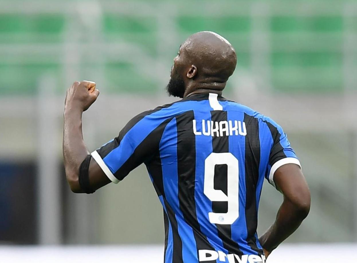 赛季意甲第19球,卢卡库创造生计在五大联赛的第二高进球数