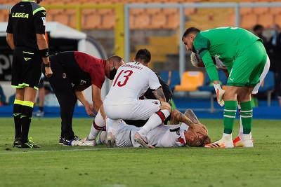 克亚尔将缺席周日AC米兰主场与罗马的意甲联赛