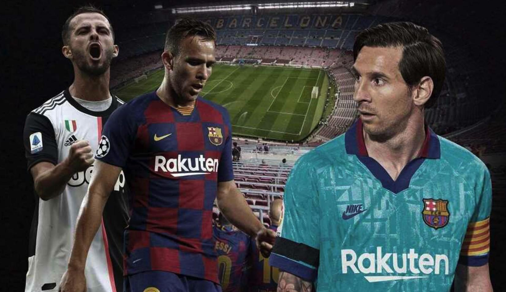 梅西并不反对巴塞罗那用阿图尔和尤文图斯交换皮亚尼奇