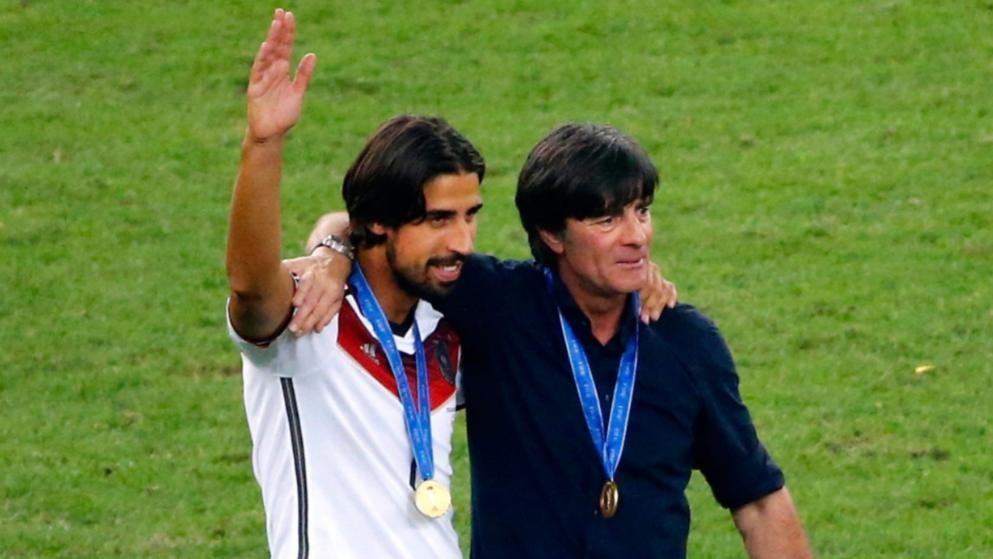 赫迪拉谈德国7-1巴西:中场休憩时,勒夫让我们不要凌辱对手